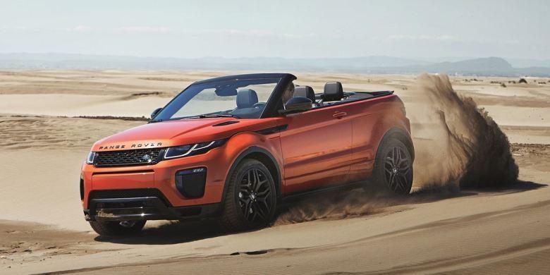 Range Rover Evoque conversível é apresentado