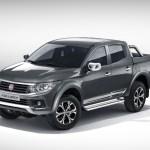 Picape média, Fiat Fullback é mostrada em Dubai
