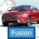 Ford Fusion reestilizado será mostrado em Detroit