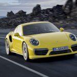 Porsche 911 Turbo e Turbo S ficam mais potentes em 2016