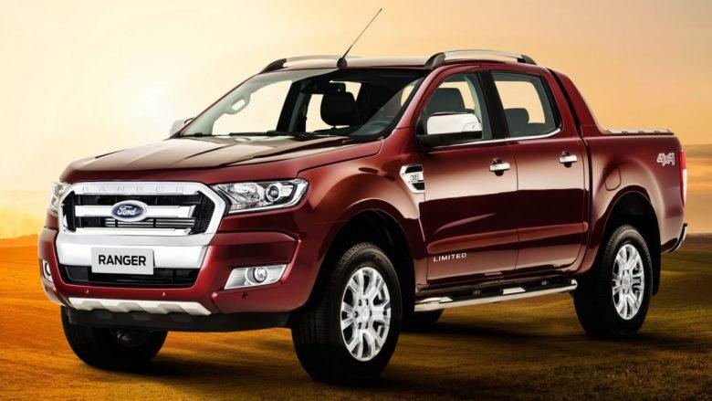 Esta é a nova Ford Ranger para a América do Sul