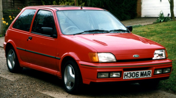 Ford Fiesta RS Turbo 1990-1992