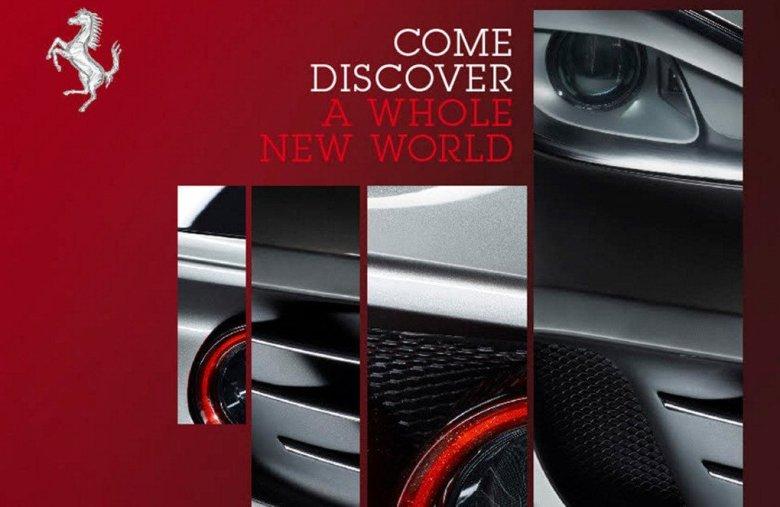 Ferrari lança teaser da FF com facelift