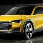 Audi apresenta o conceito h-tron, um crossover movido a hidrogênio
