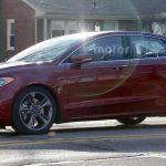 Ford Fusion 2017 é visto antes da estreia em Detroit