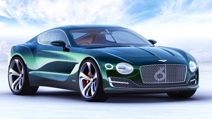 Conceito Bentley EX 10 Speed 6