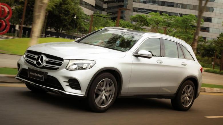 Mercedes GLC desembarca no Brasil por R$ 222.900