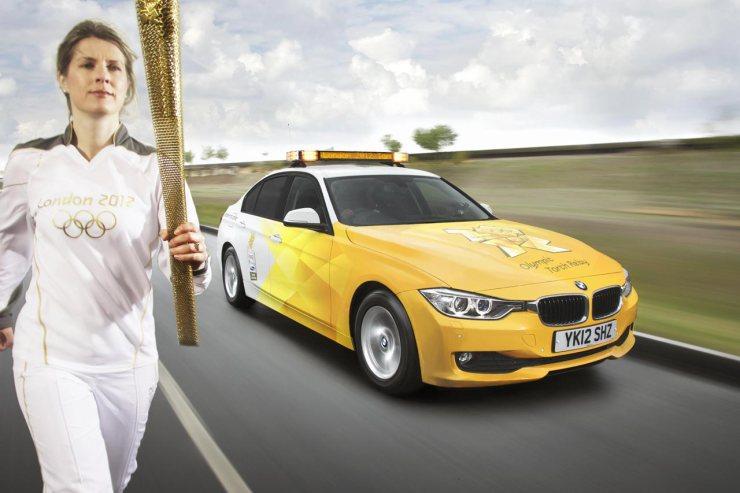BMW Série 3 usado nos Jogos de Londres em 2012