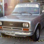 Este foi o primeiro Fiat fabricado no Brasil