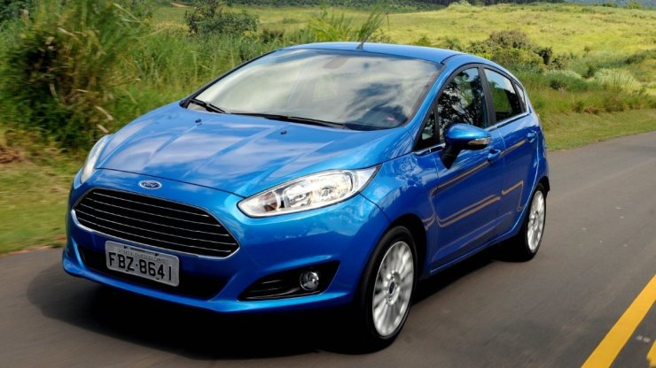 Fiesta continues to be a small car that is big on safety.