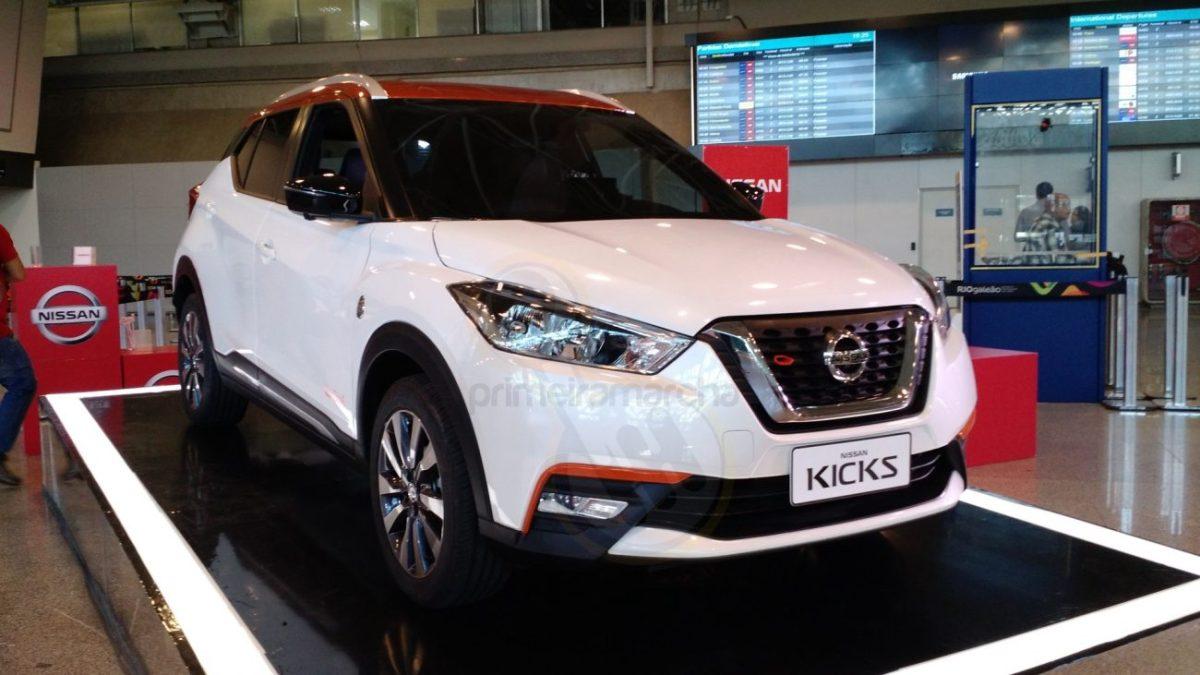 Este é o Nissan Kicks Rio 2016