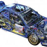 Subaru comemora 50 anos de seus motores boxer