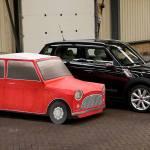 O Morris Mini original cabe dentro de um Countryman atual