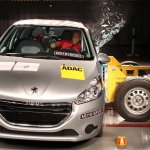 Peugeot 208 decepciona em novos testes de impacto do Latin NCAP