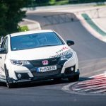 Honda Civic Type R registra recordes em cinco circuitos europeus clássicos