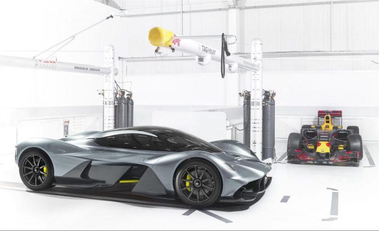 Aston Martin mostra o AM-RB 001, criado em parceria com a Red Bull Racing