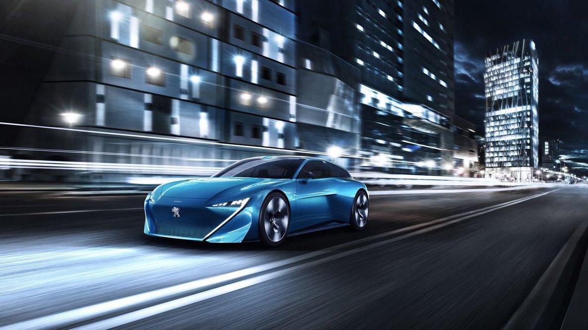 Peugeot Instinct Concept mostra o futuro de design e tecnologia