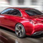 Mercedes-Benz Concept A Sedan, 2017