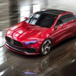 Mercedes mostra conceito que antecipa versão sedã do Classe A