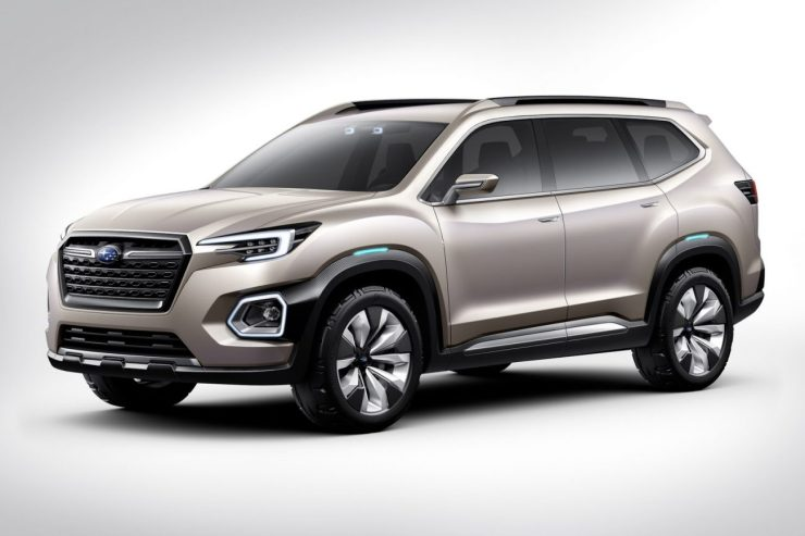 Subaru Viziv-7 Concept (2016)