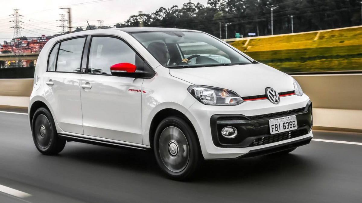 VW Saveiro e Up! recebem opção Pepper com adereços esportivos