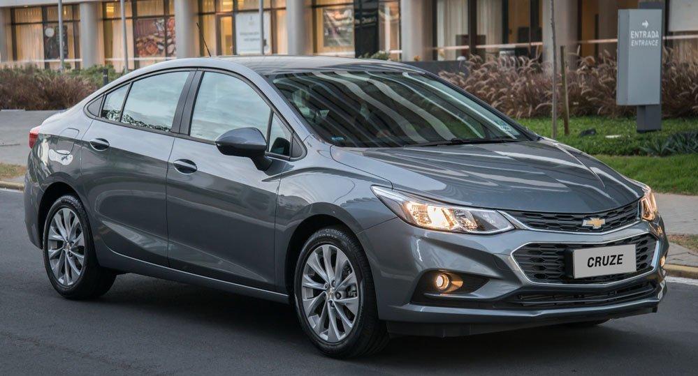 Chevrolet Cruze 2018 tem novos equipamentos de série