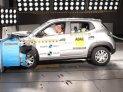 Renault Kwid brasileiro se sai melhor que o original indiano e leva três estrelas no Latin NCAP