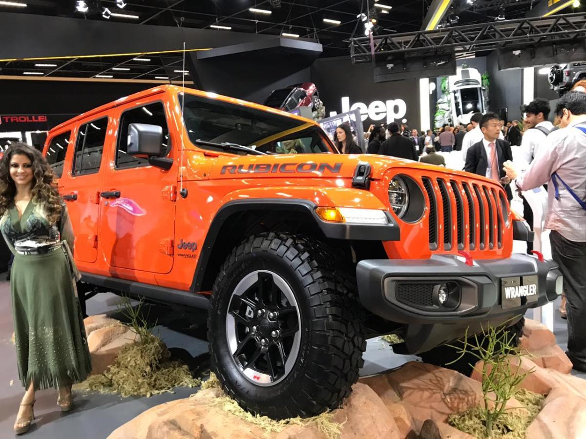 Salão de São Paulo: Jeep mostra novo Wrangler e testa receptividade do Cherokee