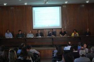 Vice-reitor da UFV, João Galvão, na abertura do evento