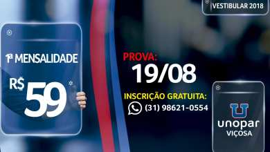 Photo of PROVA UNOPAR VIÇOSA ACONTECERÁ NO DIA 19 DE AGOSTO