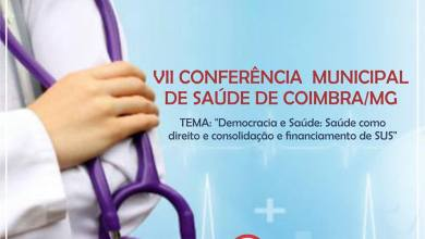 Photo of VII CONFERÊNCIA MUNICIPAL DE SAÚDE É REALIZADA EM COIMBRA