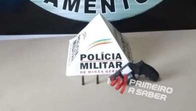 Photo of ARMA DE FOGO USADA EM TENTATIVA DE HOMICÍDIO É APREENDIDA NA COURA