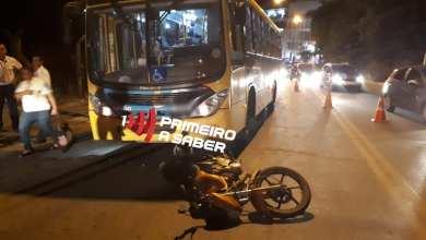 Photo of COLISÃO ENTRE MOTOCICLETA E ÔNIBUS NA CASTELO BRANCO