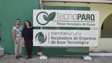 Photo of TECNOPARQ RECEBE VISITA DE PESQUISADOR DO PROGRAMA LIVING LAB BIOBASED BRAZIL