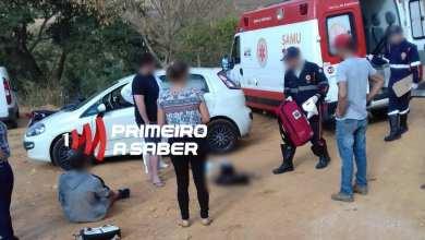 Photo of ACIDENTE ENTRE CARRO E MOTO DEIXA CASAL FERIDO NA RODOVIA GUIRICEMA X VISCONDE DO RIO BRANCO