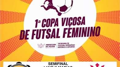 Photo of SEMIFINAL DO FUTSAL FEMININO ACONTECE HOJE (21)