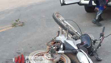 Photo of Três pessoas ficam feridas em colisão entre motos na rodovia Porto Firme/Piranga
