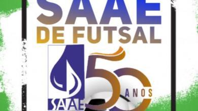 Foto de Acontecerá o 1º Torneio Cinquentenário SAAE de Futsal