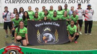 Photo of Viçosa F. C. – Vice campeã do Campeonato Regional do Café 2019