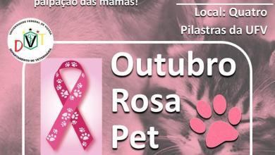 Photo of Medicina Veterinária promove Outubro Rosa Pet neste sábado