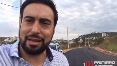 Photo of Prefeito divulga vídeo do asfaltamento da Av. São João Batista