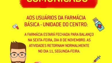 Photo of Farmácia Popular fecha para balanço nesta sexta-feira