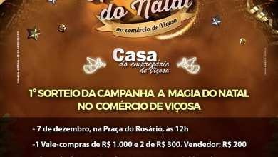 Photo of 1º sorteio da Campanha de Natal da Casa do Empresário acontece neste sábado (07)
