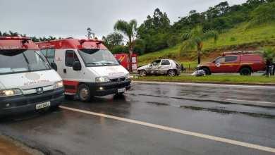 Photo of Três pessoas ficaram feridas em um acidente próximo à Coimbra