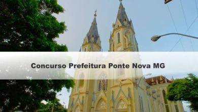 Photo of Prefeitura de Ponte Nova abre inscrições para concurso público com mais de 550 vagas