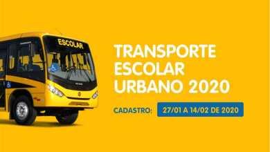 Photo of Cadastramento para transporte escolar gratuito acontece a partir do dia 27 de janeiro