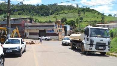 Foto de SAAE inicia construção de adutora em Novo Silvestre