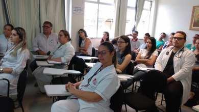 Photo of Regional de Ponte Nova promove treinamento sobre administração de soros e segurança do paciente no Hospital São João Batista, em Viçosa