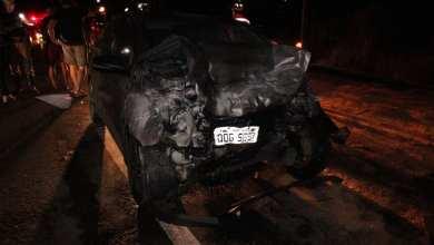 Photo of Batida entre dois carros deixa feridos na BR-120, em Viçosa
