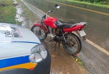Photo of Motocicleta roubada em São Miguel do Anta é localizada pela PM no Romão dos Reis, em Viçosa
